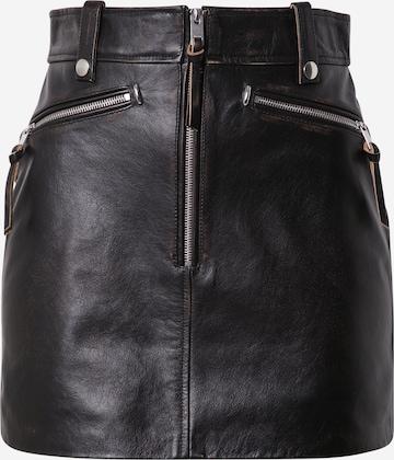 DIESEL Skirt 'EMILIA' in Black
