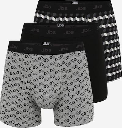 JBS OF DENMARK Boxer shorts in grey / black / white, Item view