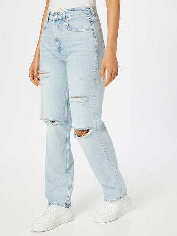 Gina Tricot Jeans '90s' in Blue