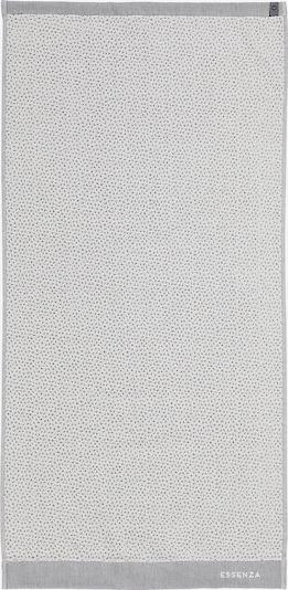 ESSENZA Handtuch 'Organic breeze' in grau / hellgrau, Produktansicht