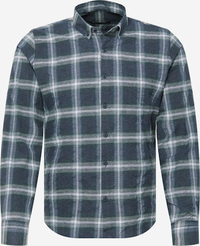 Trendyol Hemd in grün / petrol / weiß, Produktansicht