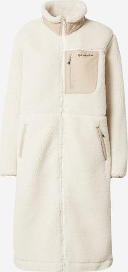 COLUMBIA Mantel in creme / hellbeige / schwarz, Produktansicht