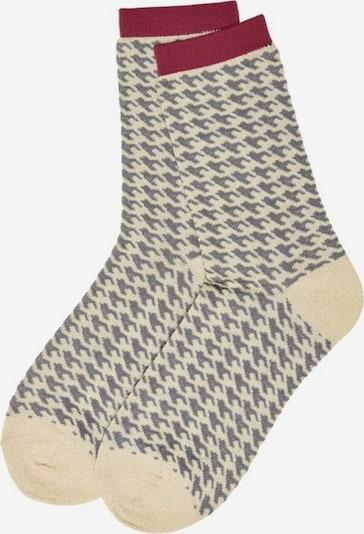 KIDS ONLY Socken in creme / greige / pitaya, Produktansicht