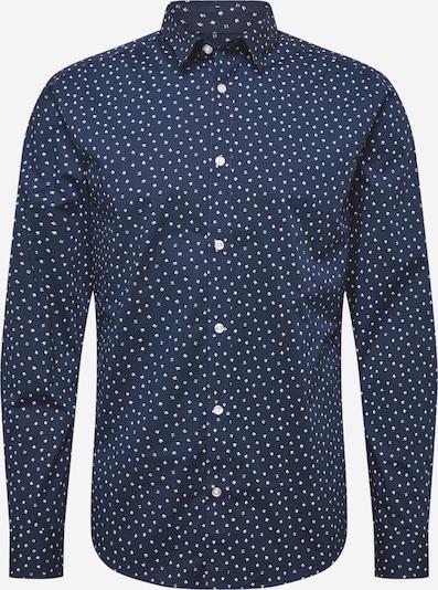 Camicia 'SANDER' Only & Sons di colore blu scuro / bianco, Visualizzazione prodotti