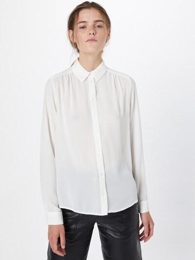 SELECTED FEMME Blus i vit, På modell
