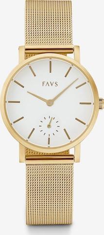 FAVS Uhr in Gold