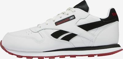 Reebok Classics Sneaker in rot / schwarz / weiß, Produktansicht