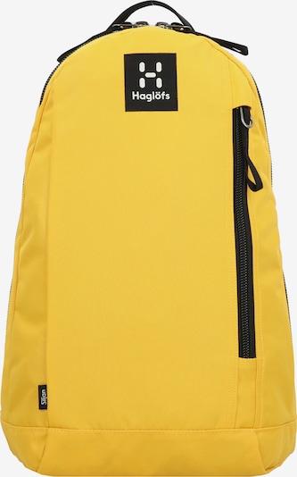 Haglöfs Rucksack 'Siljan' in gelb / schwarz, Produktansicht