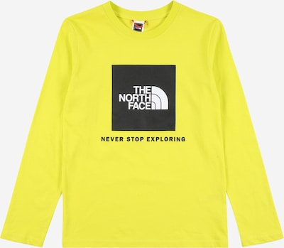 THE NORTH FACE Functioneel shirt in de kleur Geel / Zwart / Wit, Productweergave