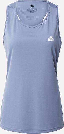 ADIDAS PERFORMANCE Sporttop in navy / dunkelblau / flieder / weiß, Produktansicht