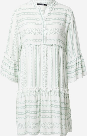 ZABAIONE Kleid 'Lisa' in grün / weiß, Produktansicht