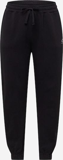 Pantaloni NU-IN Plus pe negru / alb, Vizualizare produs