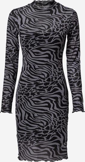 Urban Classics Kleid in de kleur Zilvergrijs / Zwart, Productweergave