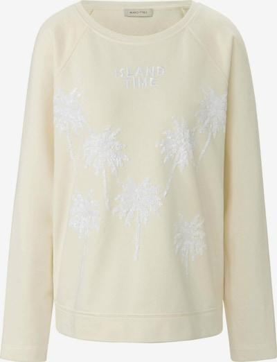 MARGITTES Sweatshirt in gelb / weiß, Produktansicht