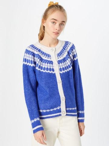 Lollys Laundry Knit Cardigan 'Nova' in Blue
