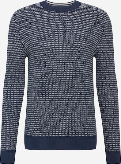 SELECTED HOMME Pullover 'Wesley' in dunkelblau / weiß, Produktansicht