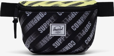 Herschel Чанта за кръста 'Fourteen' в пастелно жълто / черно / бяло, Преглед на продукта