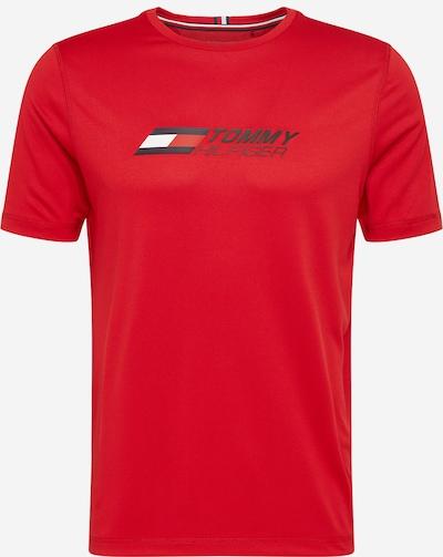 Tommy Sport Camiseta funcional 'ESSENTIALS' en azul noche / rojo / blanco, Vista del producto
