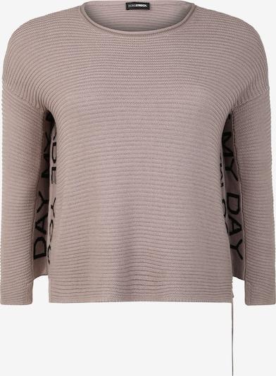 Doris Streich Pullover mit Zipper in grau, Produktansicht