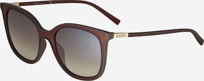GUESS Sluneční brýle - hnědá, Produkt