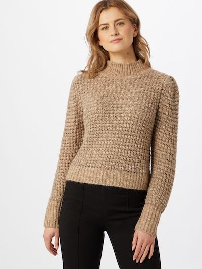 OBJECT Pullover in beige: Frontalansicht