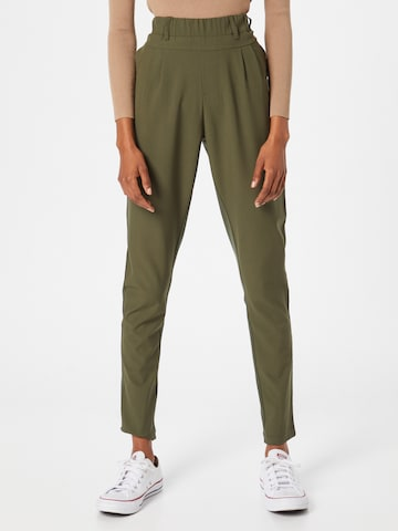 Kaffe Voltidega püksid, värv roheline
