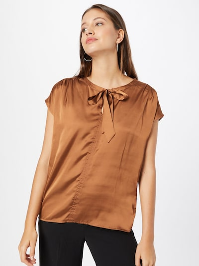MORE & MORE Blouse in Caramel, View model