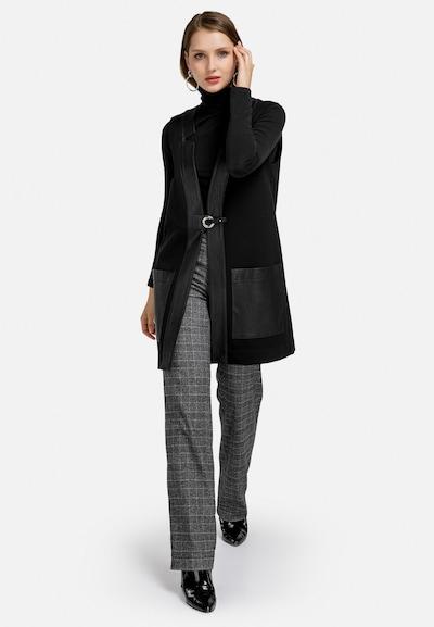 HELMIDGE Weste in schwarz, Modelansicht