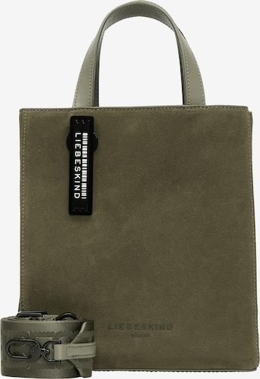 Liebeskind Berlin Handtasche in stone / khaki / schwarz, Produktansicht