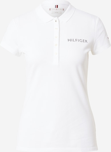 TOMMY HILFIGER Shirt in Black / White, Item view