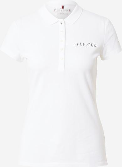 TOMMY HILFIGER Poloshirt in schwarz / weiß, Produktansicht