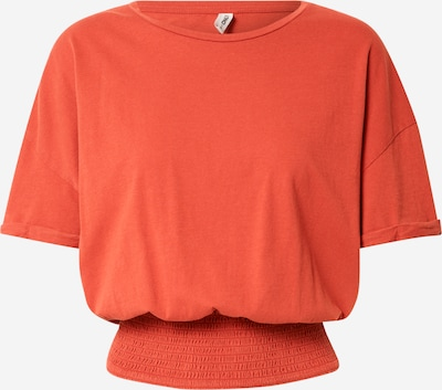 ONLY Shirt 'SILLA' in de kleur Oranjerood, Productweergave