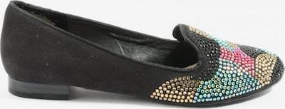 Limelight faltbare Ballerinas in 38 in blau / gold / schwarz, Produktansicht