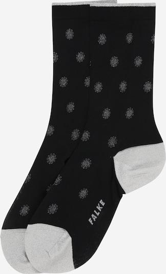 FALKE Čarape 'Firmament' u svijetlosiva / crna, Pregled proizvoda
