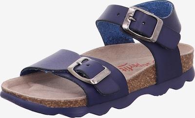SUPERFIT Pantoletten in blau, Produktansicht