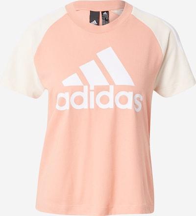 ADIDAS PERFORMANCE T-Shirt in rosa / weiß, Produktansicht