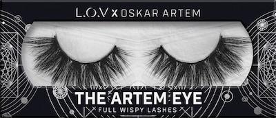 L.O.V Artificial Eyelashes 'The Artem Eye' in Black / White, Item view