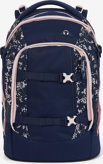 Satch Rucksack in nachtblau / pastellpink, Produktansicht