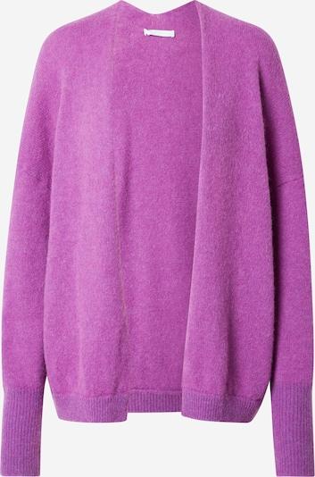 BOSS Casual Strickjacke 'Falesca' in lila, Produktansicht
