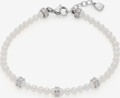 LEONARDO Armband mit Zirkonia in silber / weiß, Produktansicht