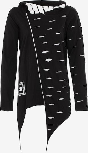 CIPO & BAXX Pullover in schwarz / weiß, Produktansicht