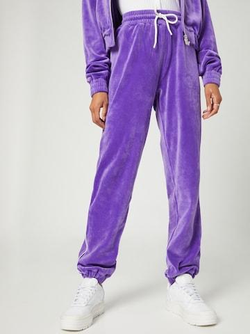 Pantaloni 'Rieke' di VIERVIER in lilla