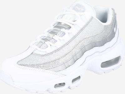 Nike Sportswear Sneaker 'WMNS NIKE AIR MAX 95' in hellgrau / silber / weiß, Produktansicht