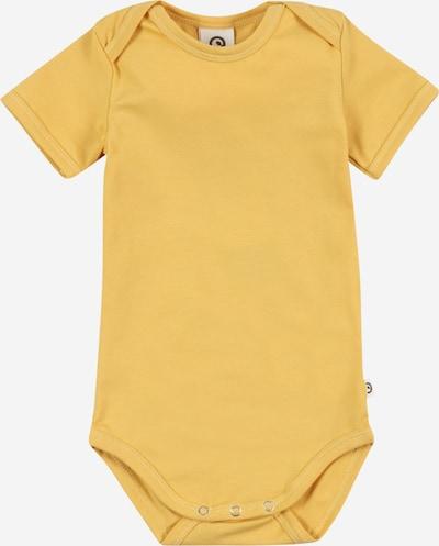 Müsli by GREEN COTTON Бебешки гащеризони/боди 'Cozy' в жълто, Преглед на продукта