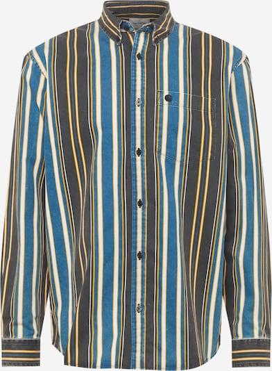 Carhartt WIP Hemd 'Maynard' in blau / gelb / schwarz / weiß, Produktansicht