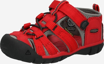 KEEN Sandaal 'SEACAMP II CNX', värv punane