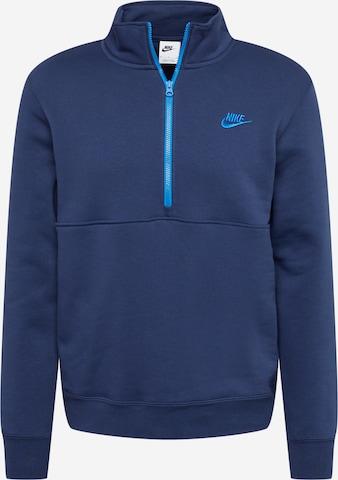 Nike Sportswear Sweatshirt in Blue