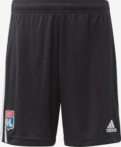 ADIDAS PERFORMANCE Sportbroek 'Olympique Lyon Auswärtsshorts' in de kleur Blauw / Rood / Zwart / Wit, Productweergave