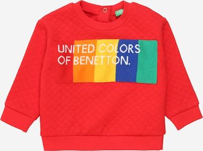 UNITED COLORS OF BENETTON Sweatshirt in blau / jade / mischfarben / melone / weiß, Produktansicht