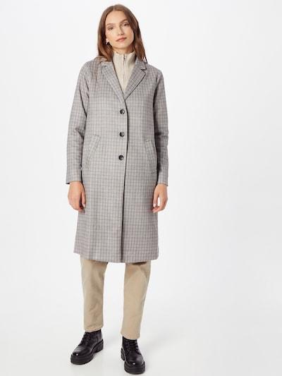 SISTERS POINT Mantel 'VIBBA' in beige / hellblau / schwarz, Modelansicht